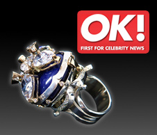 Wentworth Jewels Grand Ring in OK Magazine